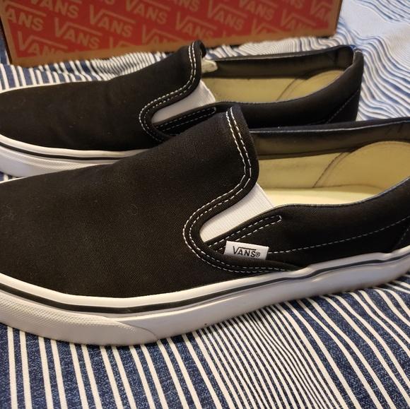 Van's Classic Slip-ons, Size 9 M / 10.5 W